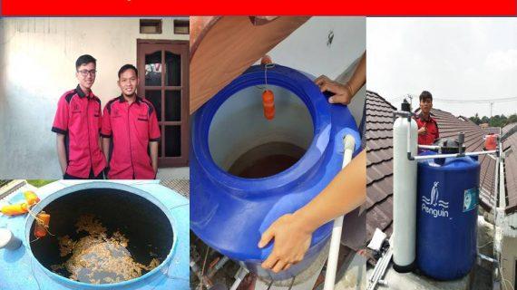 Kuras toren air Pondok Pinang