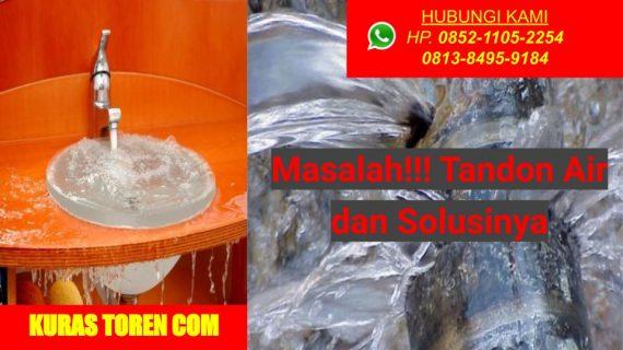 Jasa Tambal Toren Air Bocor dan Solusinya
